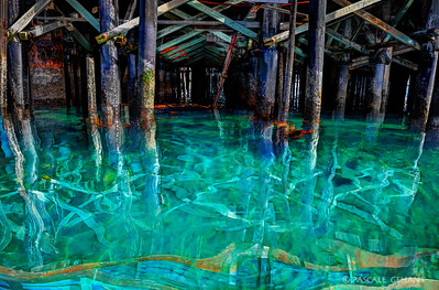 Watercolors under the pier