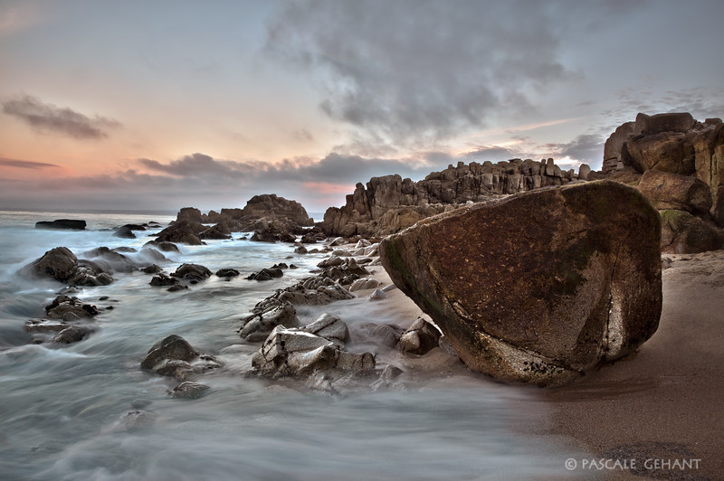 Rocky beach- Pacific Grove