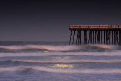 Surf & Pier by Moonlight