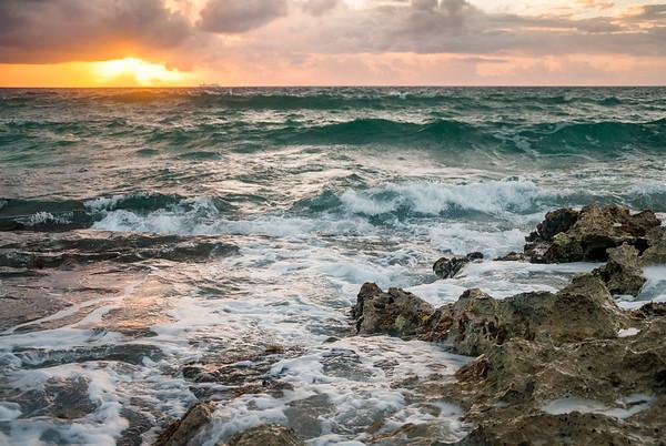 Sunrise, Riviera Maya, Mexico
