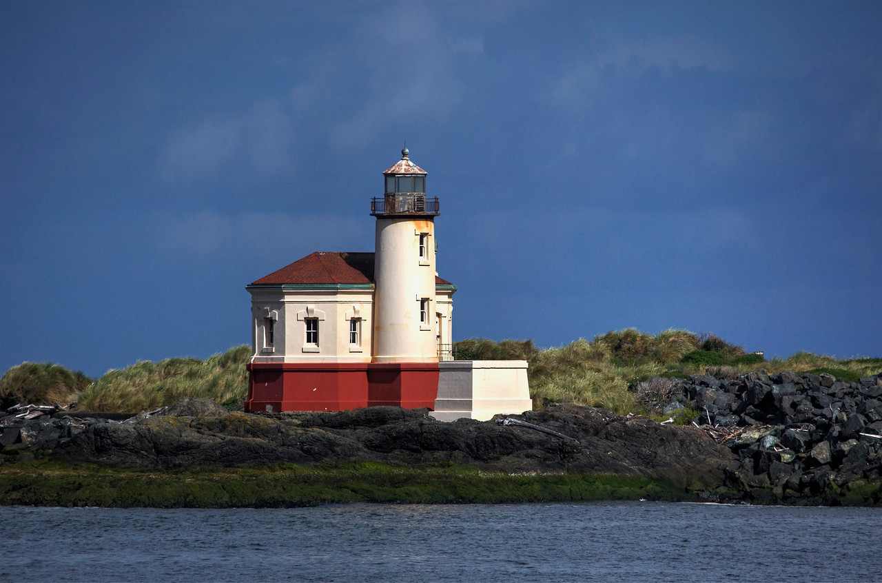 Coquille Lighthouse, Bandon Beach Or.