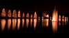 Christmas Holiday lights at McAdenville, North Carolina