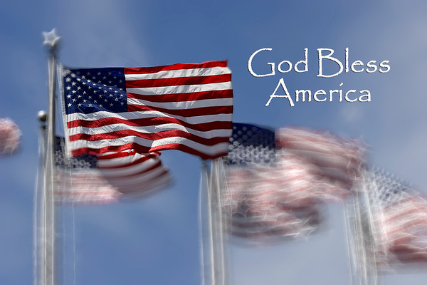 American Flags - God Bless America