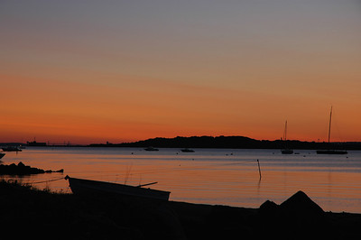 Sunrise over Newport RI