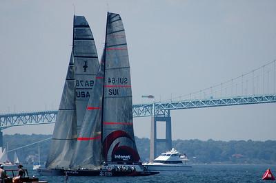 UBS 12 m. racing - Newport RI - 2004