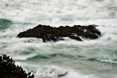 View of a rock formation where seagulls, seals and other seabirds can be found resting. Located in Cape Meares and Oceanside in the Oregon Coast  © Copyright Hannah Pastrana Prieto