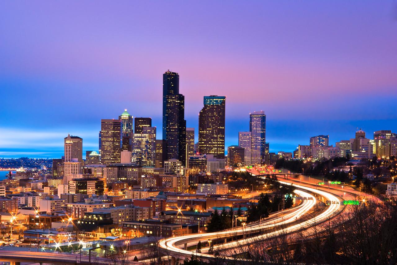 Seattle in Twilight