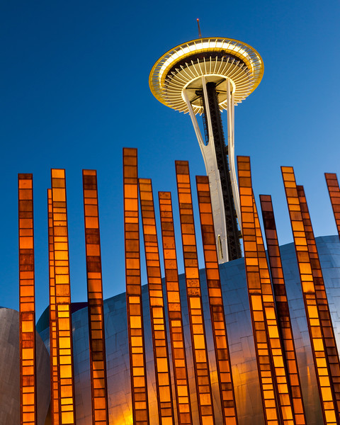 Seattle Center Twilight