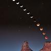 Lunar Eclipse Over Castle Rock