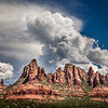 Greg Griffin,   Monsoon Clouds Over Sedona