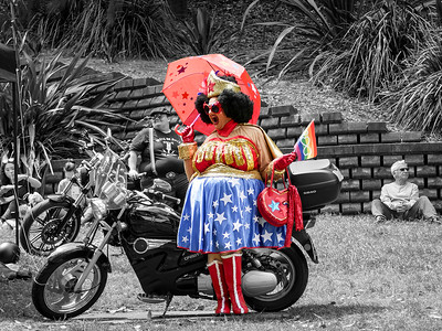 Wonder Mamma at Parramatta Pride Picnic by Jaz Barker Brierley