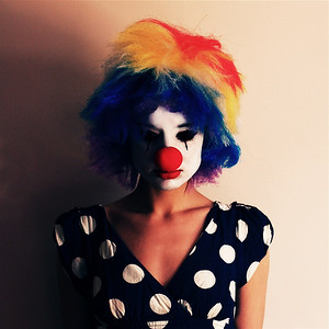 The Clown  Never let me forget that my total effort is to cheer people, make them happy, and forget momentarily, all the unpleasantness in their lives. From The Clown's Prayer.