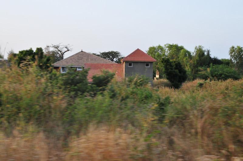 Rural house in Senegal