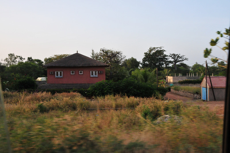 Rural houses in Senegal