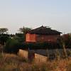 Rural houses in Senegal
