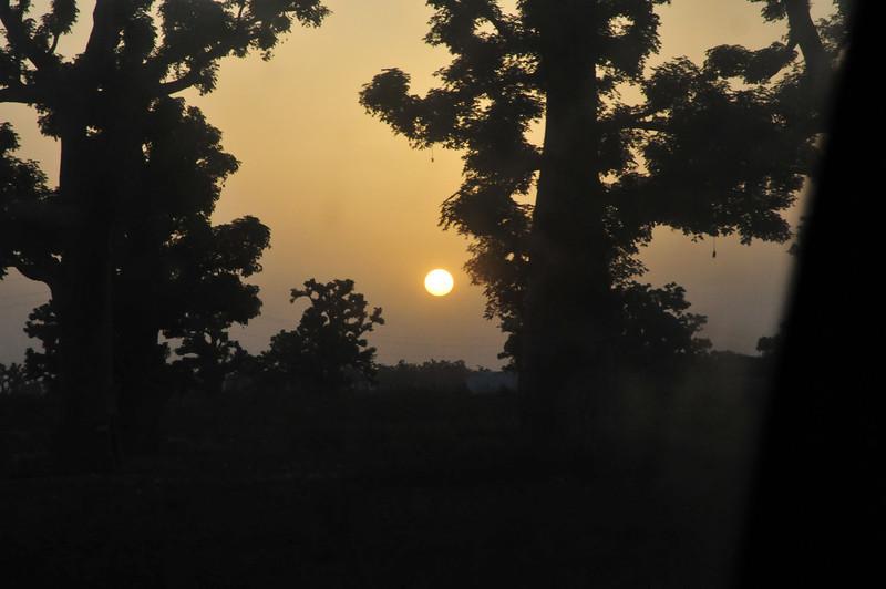 Sunrise near Dekar, Senegal