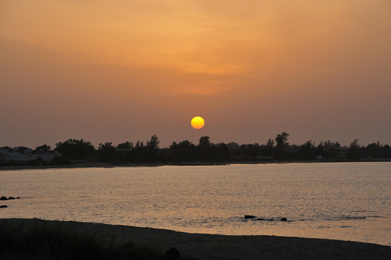 Sunrise over Senegal