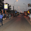 Main street in downtown Saly, Senegal