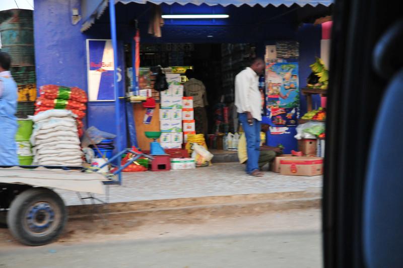 Saly market, Senegal