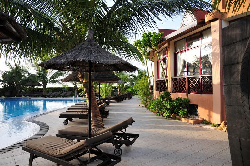 Pool at Lamantin Beach Hotel in Saly