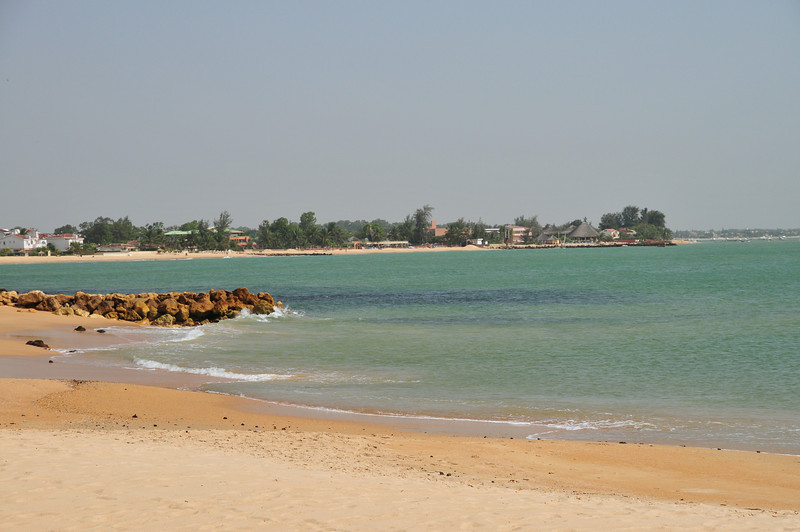 Beach of West Aftrica