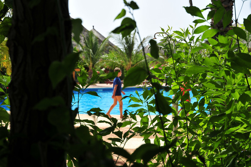 Second pool at Lamantin Beach Hotel in Saly