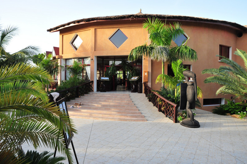 Resteraunt at Lamantin Beach Hotel in Saly