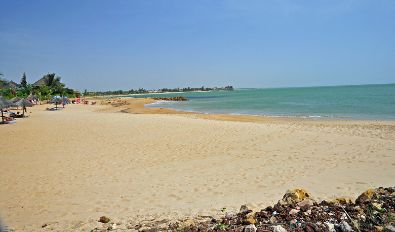 Beach of West Africa