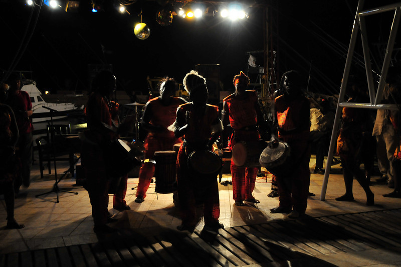 Drummers at a Gala in Saly