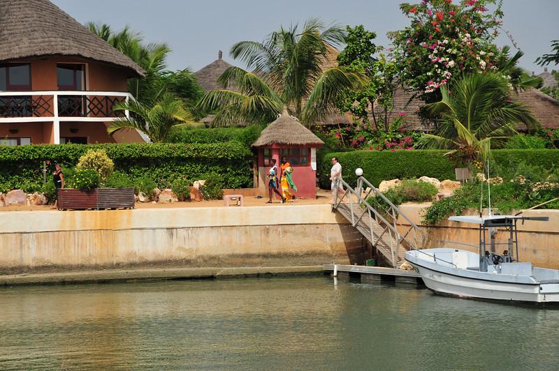 Hotel from Marina