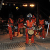 Drummers and dancers at a Gala in Saly, Senegal