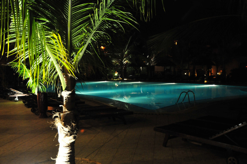 Pool at hotel in Saly