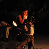 Fire eater/dancer
