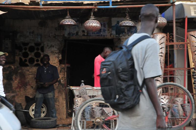 Downtown Saly, Senegal