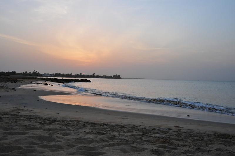 Pre-sunrise over Senegal