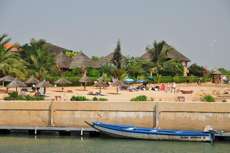 Beach from Marina