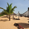 Beach at Lamantin Beach Hotel in Saly