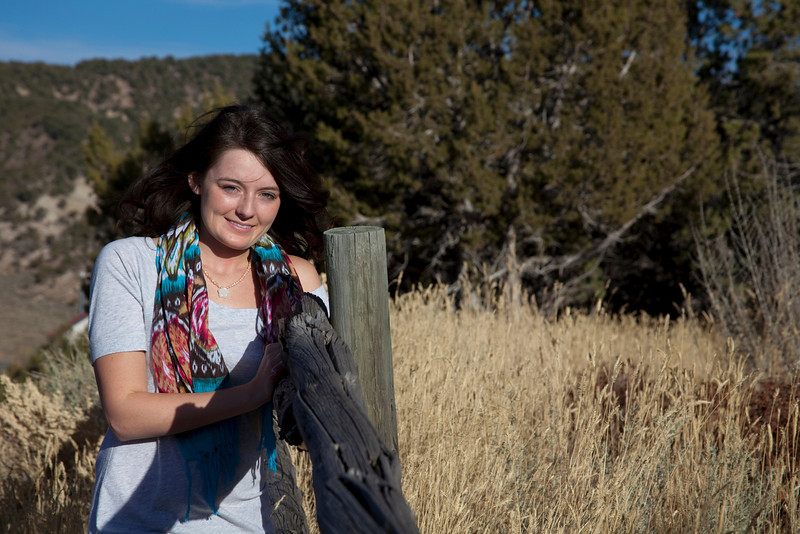 Jess' Senior Photos, Eagle Colorado.