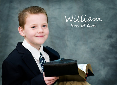 William Front 5x7 son of God