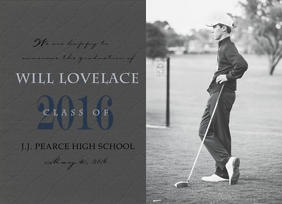 will lovelace senior announcement