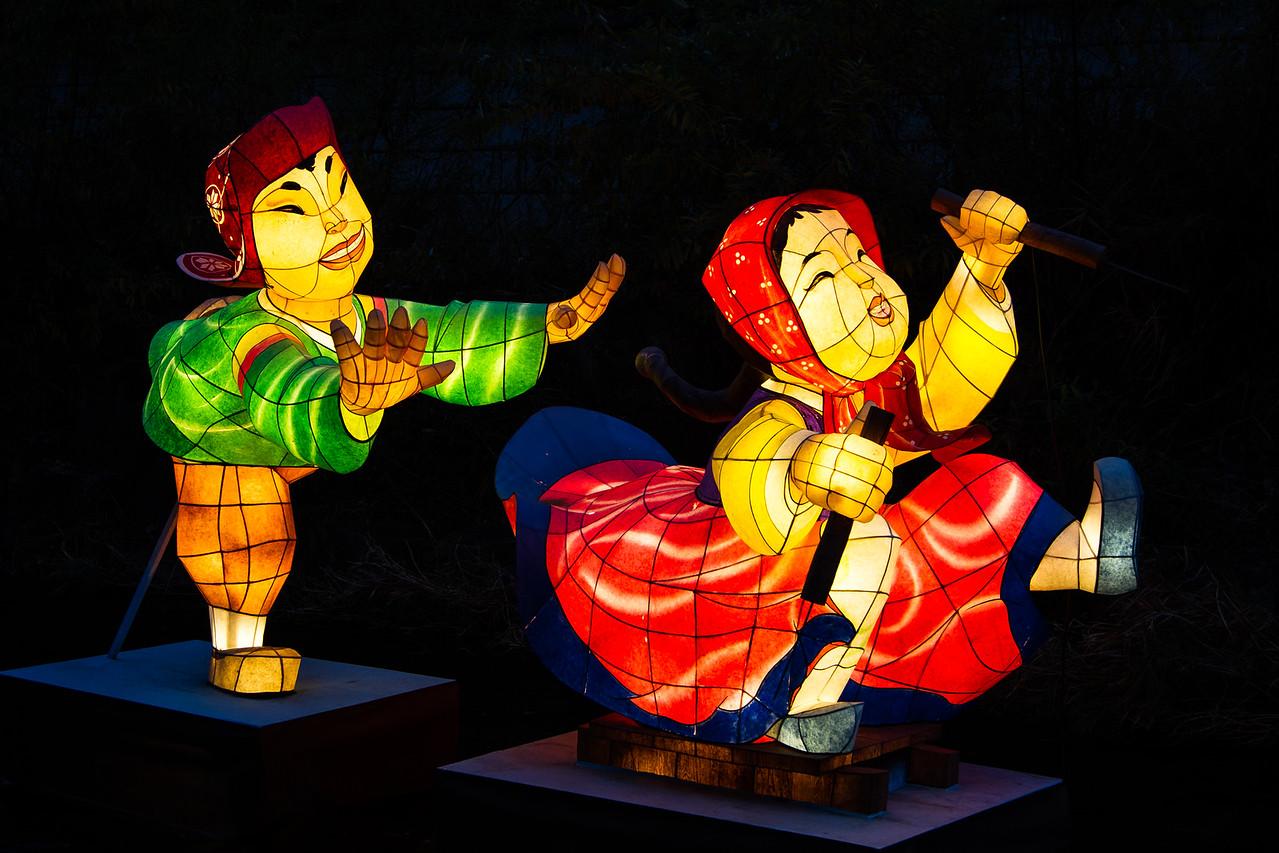 Lanterns in the Cheonggye Stream