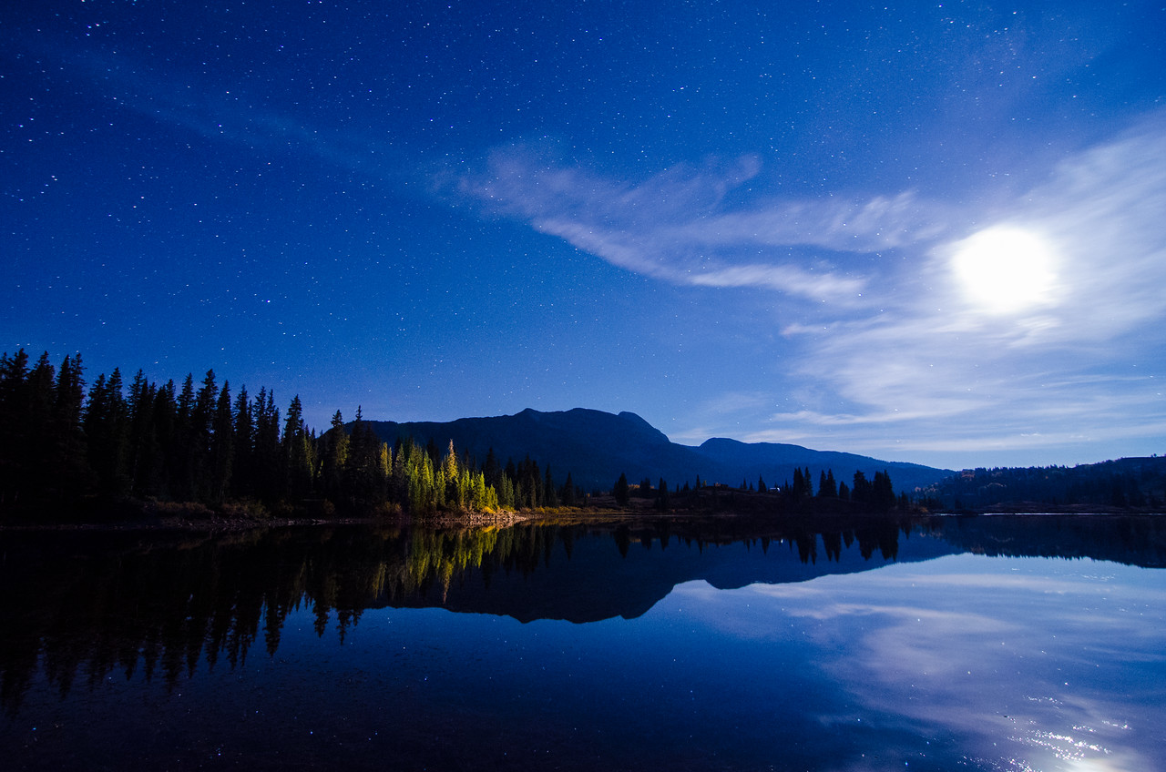 Reflecting Moonlight