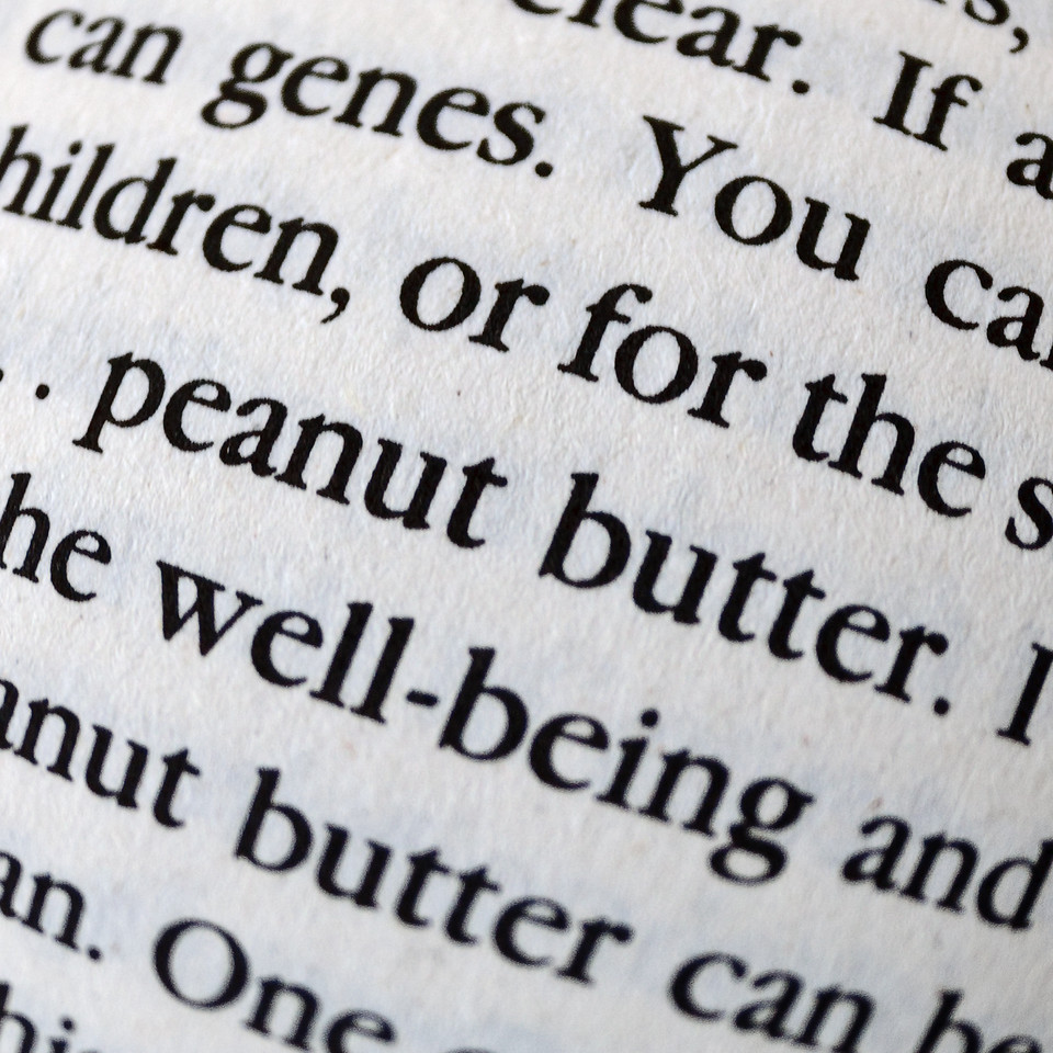 It's all in the genes, said the peanut butter
