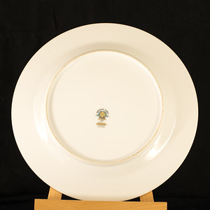 Edgewood Noritake plate back