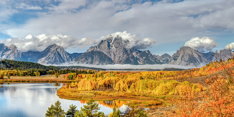 Midday at Oxbow Bend