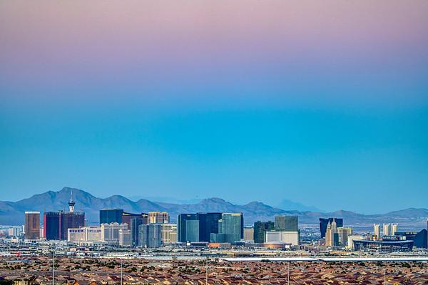 Las Vegas at Dusk