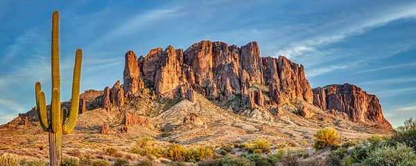 Superstition Mountain Sunset