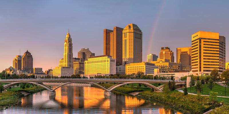 Sunset in Columbus