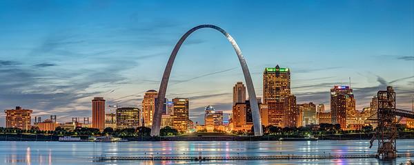 Saint Louis Panorama