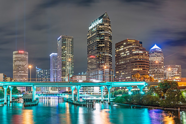 Tampa at Night